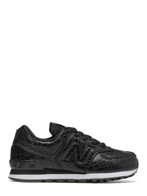 Кроссовки черные New Balance 574 | 4042350
