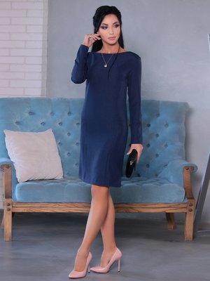 Платье темно-синее | 4058129
