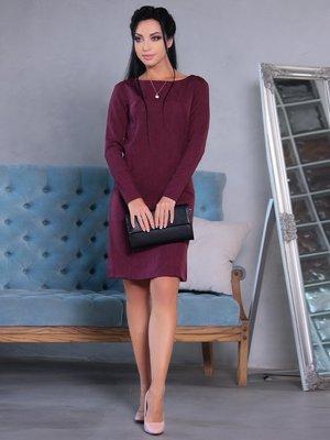 Платье сливового цвета | 4058130