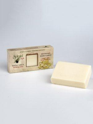 Мыло глицериновое с натуральными маслами «Мастиковая смола» (100 г) | 4058959