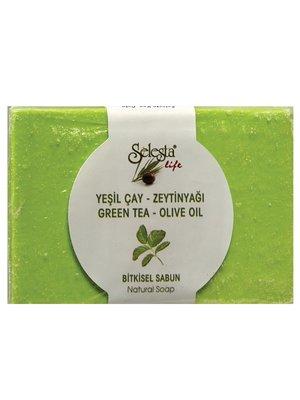 Мило рослинне з зеленим чаєм і оливковою олією (100 г) | 4058981