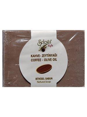 Мыло растительное с кофе и оливковым маслом (100 г) | 4058982