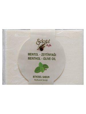 Мыло растительное с ментолом и оливковым маслом (100 г) | 4058986