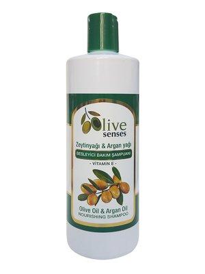 Шампунь питательный с оливковым и аргановым маслами (500 мл) | 4058996