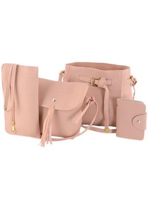 Набор: 2 сумки, косметичка и визитница | 4059793