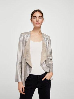 Жакет сріблястий | 4009360