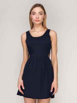 Платье темно-синее | 4042759