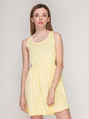 Платье желтое | 4042769