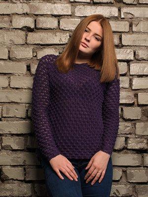 Джемпер фиолетовый | 4050523
