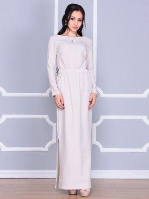 Платье бежевое | 4065023