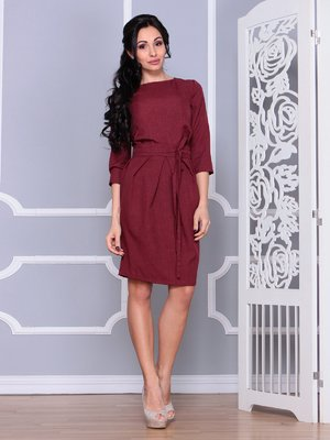 Платье светло-сливовое   4065041
