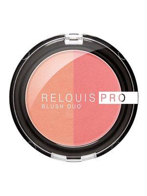 Рум'яна компактні Relouis Pro Blush — тон №201 | 4067162
