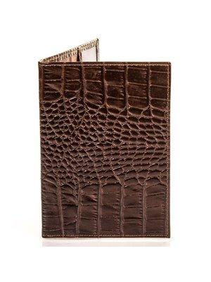 Обложка для паспорта коричневая | 4033411