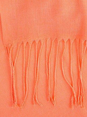 Палантин ярко-оранжевый | 4058347