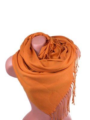 Палантин оранжевый | 4058357