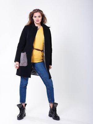 Пальто черное | 4007060