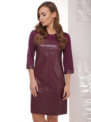 Сукня баклажанового кольору | 4067304