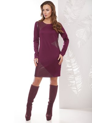Сукня баклажанового кольору | 4067308