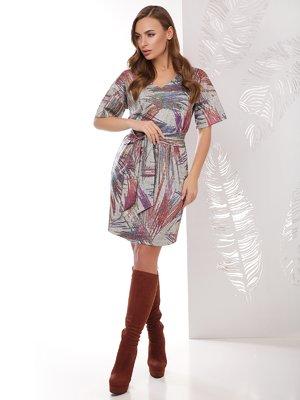 Платье серое | 4067317