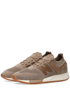 Кроссовки коричневые New Balance 247   4042443