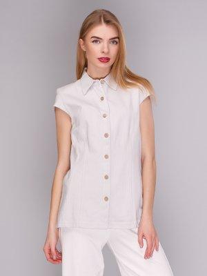 Блуза светло-серая | 371059