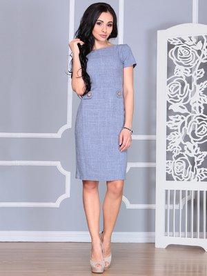 Платье цвета фиолетовой дымки | 4068453