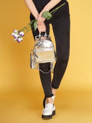 Рюкзак сріблястий | 4058025