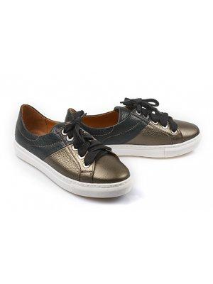 Туфли бронзово-зеленого цвета | 4079235