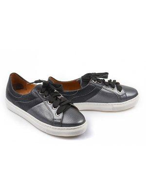 Туфли графитово-синие | 4079236