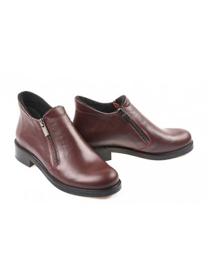 Ботинки бордовые | 4079249
