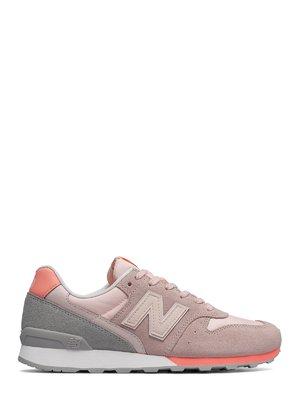 Кроссовки розово-серые New Balance 996 | 4042566