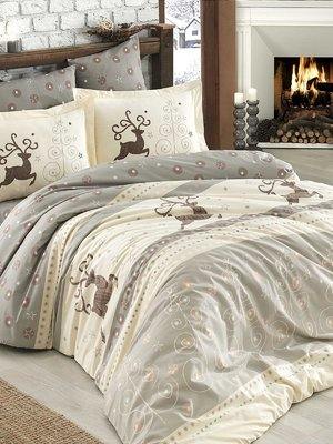 Комплект постельного белья полуторный - Hobby - 4086261