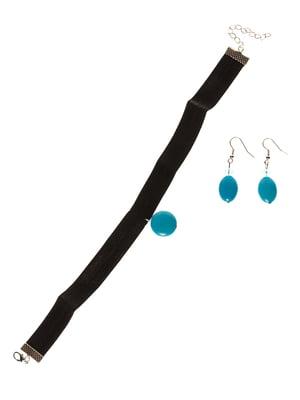 Набір: чокер і сережки | 3399470