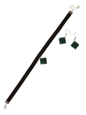 Набір: чокер і сережки | 3399490