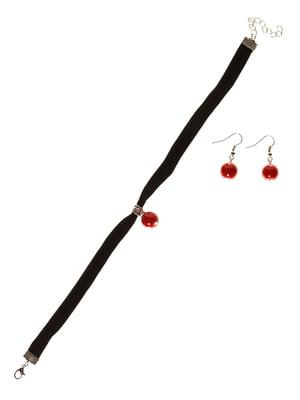 Набір: чокер і сережки | 3036160