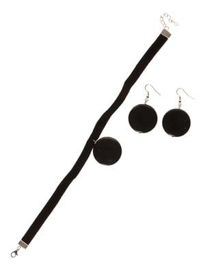 Набір: чокер і сережки | 3399502