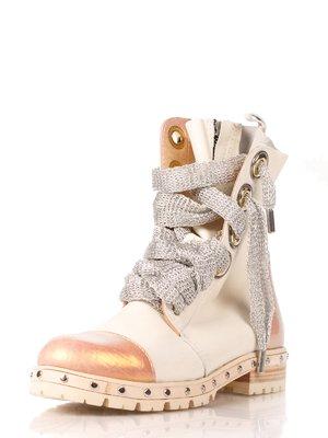 Ботинки бежевые | 4060598