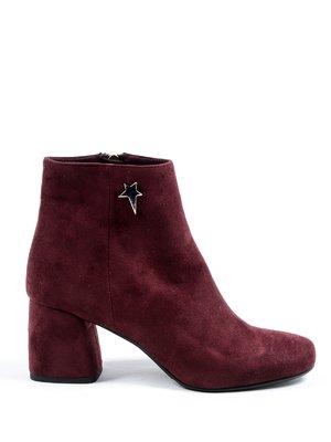 Ботинки бордовые | 4091377