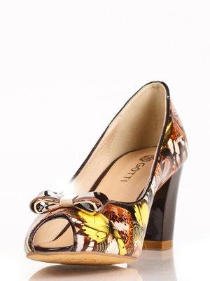 Туфли коричневые в бабочки | 3465246