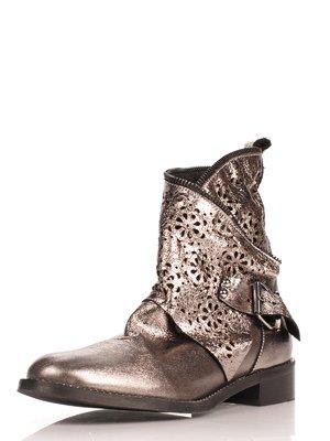 Ботинки серебристого цвета   4052643