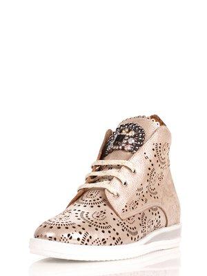 Ботинки бежевые | 4060560