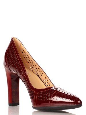 Туфли бордовые | 4030701
