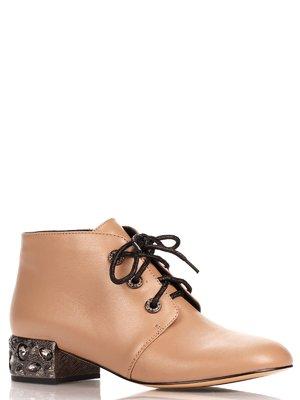 Ботинки бежевые | 4060576