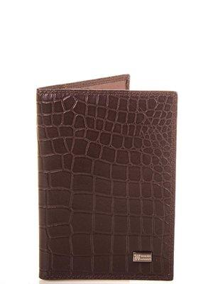 Обкладинка для паспорта коричнева | 4090487