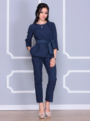 Костюм: блуза и брюки | 4078884