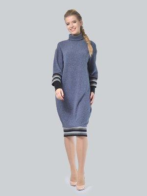 Платье графитового цвета | 4090657