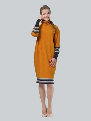 Платье горчичного цвета | 4090659