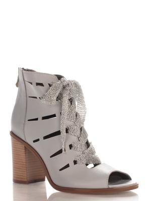 Ботинки серые | 4085380