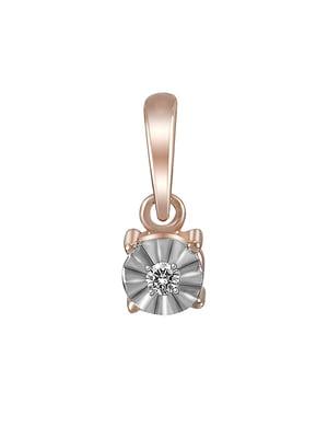 Кулон с бриллиантом | 4094077