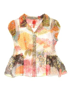 Блуза в принт | 4064847